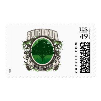Tree Hugger South Dakota Postage
