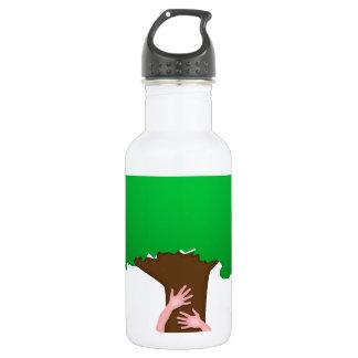 Tree Hugger Stainless Steel Water Bottle