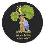Tree Hugger stickers