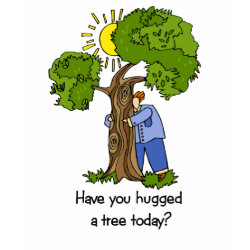 Tree Hugger t-shirt shirt