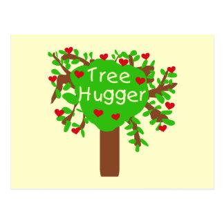 Tree Hugger T-shirts and Gifts Postcard