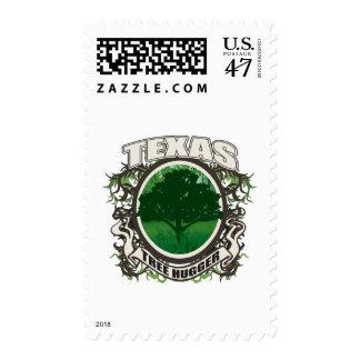 Tree Hugger Texas Postage