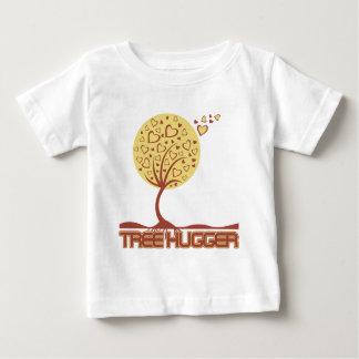 Tree Hugger Tree Hearts Baby T-Shirt