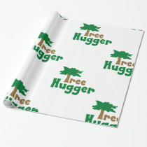 Tree Hugger Wrapping Paper