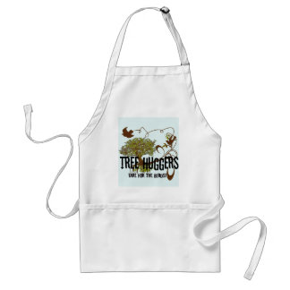 Tree Huggers Are For the Birds Adult Apron