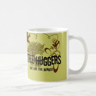 Tree Huggers Are For the Birds Classic White Coffee Mug