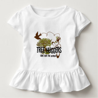 Tree Huggers Are For the Birds Toddler T-shirt