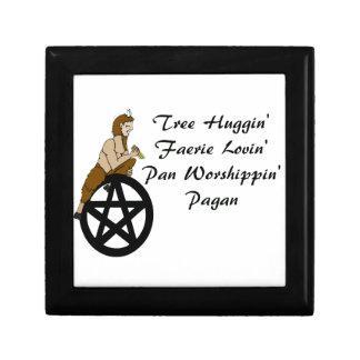 Tree Huggin Faerie Loving Pan Worshiping Pagan Jewelry Box
