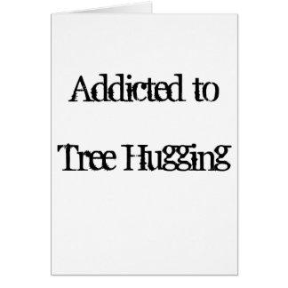 Tree Hugging Card