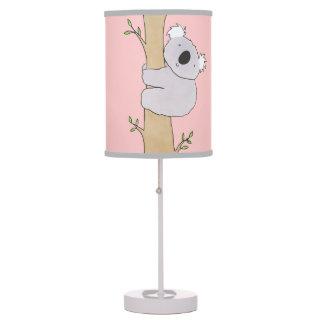 Tree Hugging Koala Table Lamps
