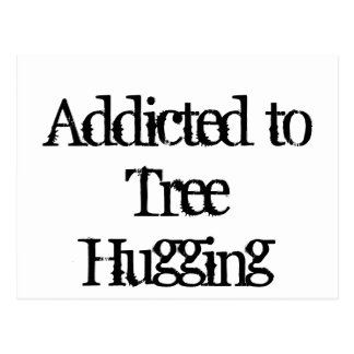 Tree Hugging Postcard