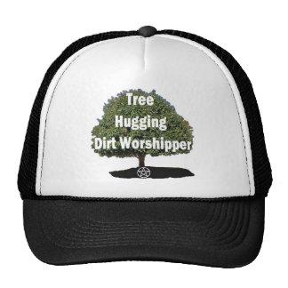tree hugging trucker hat