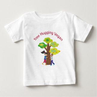 Tree Hugging Vegan Tee Shirt