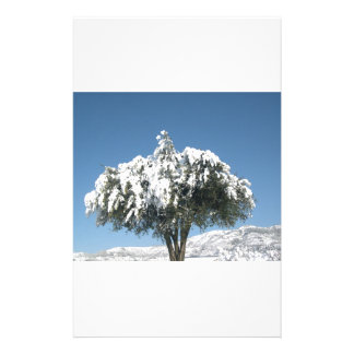 Tree Image Stationery Paper