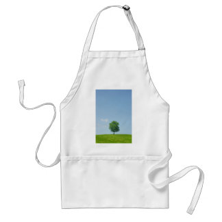 Tree in  a field 2 adult apron