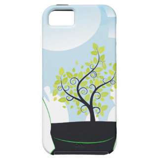 Tree in a Lightbulb iPhone SE/5/5s Case
