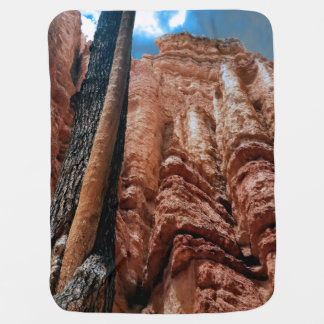 Tree-in-a -tree Navajo Loop at Bryce Canyon Nation Stroller Blanket