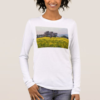 Tree in a yellow vision long sleeve T-Shirt