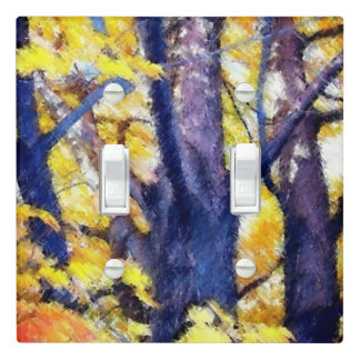 Tree in Autumn Light Switch Cover