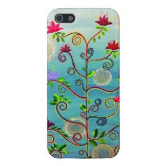 """Tree in Bloom"" iPhone 5 case by CatherineHayesArt"