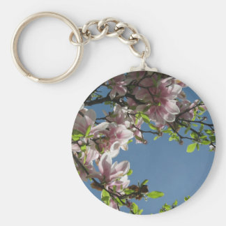 Tree in Blossom Key Chain