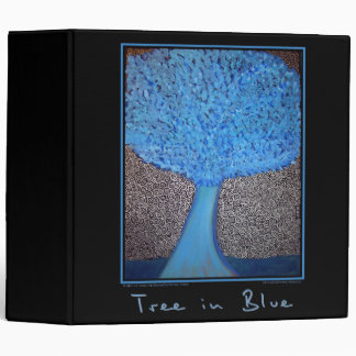 Tree in Blue Binder