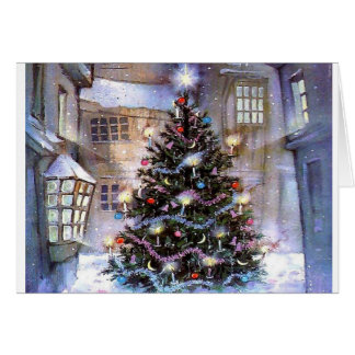Tree in City Card