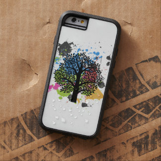 Tree in colors tough xtreme iPhone 6 case