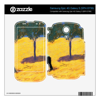 Tree in Cornfeld by August Macke Decal For Samsung Epic