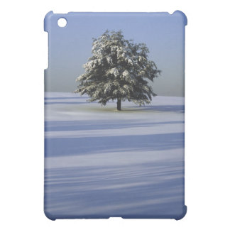 Tree in snow ed landscape cover for the iPad mini