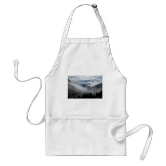 Tree in the clouds adult apron