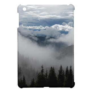 Tree in the clouds iPad mini cases