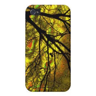 Tree in the dark-27a iPhone 4 case