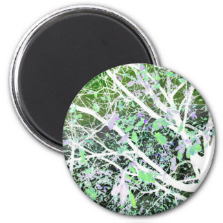 tree in the dark-55a 2 inch round magnet