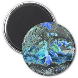 tree in the dark-59aa 2 inch round magnet