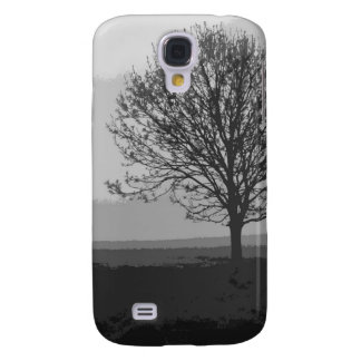 TREE IN THE FOG SAMSUNG GALAXY S4 COVER