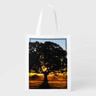Tree in the Morning Grocery Bag