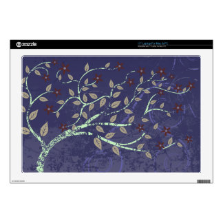 """Tree in the Wind 17"""" Laptop Skins"""