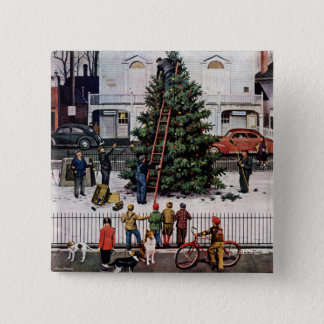 Tree in Town Square Button