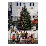 Tree in Town Square Card