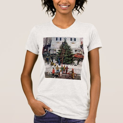 Tree in Town Square T-Shirt