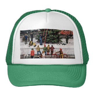 Tree in Town Square Trucker Hat