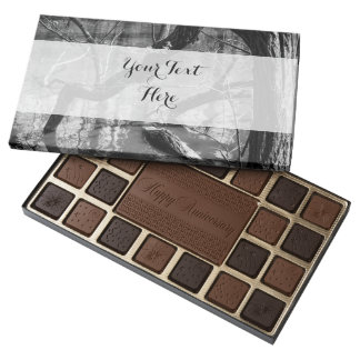 Tree In Water, Dark Horror Photograph, Woods 45 Piece Box Of Chocolates