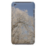 TREE IN WINTER ICE BLUE SKY iPod Touch Case