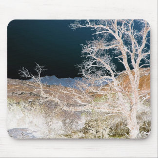 Tree In Winter Mouse Pad