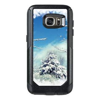 Tree in Winter Snow OtterBox Galaxy S7 Case