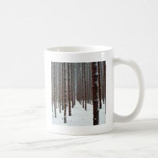 Tree Intrepid Icey Outlook Coffee Mugs