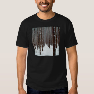 Tree Intrepid Icey Outlook T Shirts