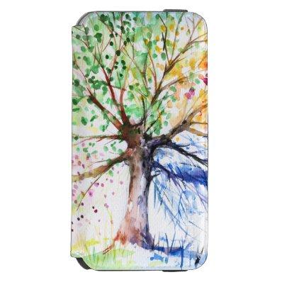 Tree iPhone 6/6S Wallet Case