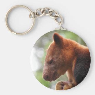 Tree Kangaroo Key Ring